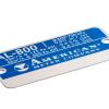 American Meter Company Metal Tag